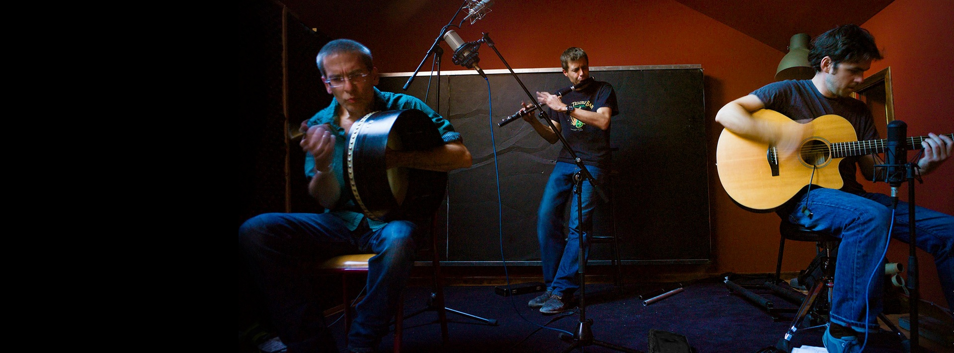 Photo d'un concert de Scoops, groupe de musique irlandaise
